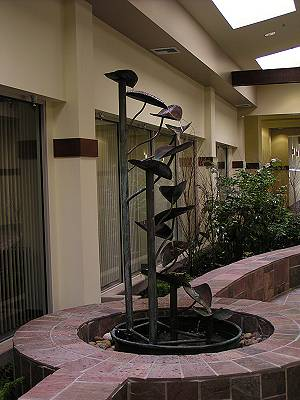 Copper Fountains - Helix flora at Yuba County Courthouse
